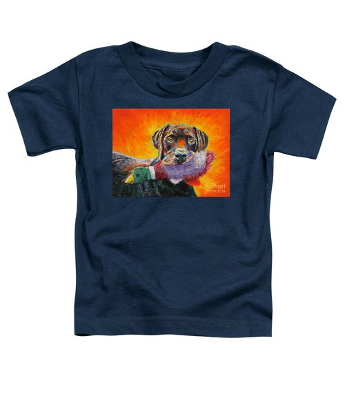 Wannabe Retriever Great Dane Toddler T-Shirt