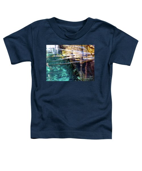 Toddler T-Shirt featuring the photograph Water Reflections by Francesca Mackenney