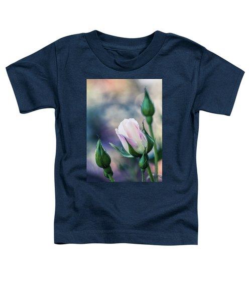 Watercolor Rose Toddler T-Shirt