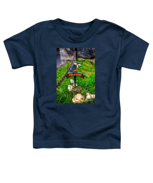 Welcome Sign Toddler T-Shirt