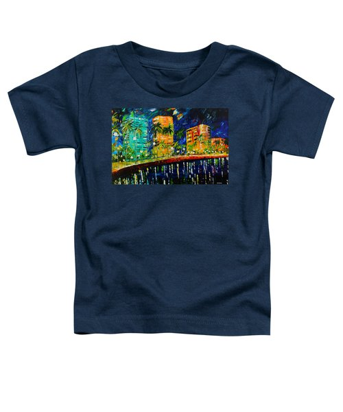 West Palm At Night Toddler T-Shirt