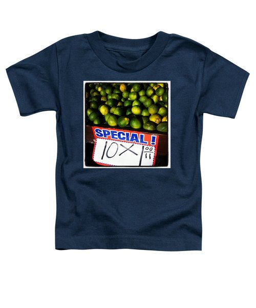 Toddler T-Shirt featuring the photograph What Lime Shortage? #dontbelievethehype by Mr Photojimsf