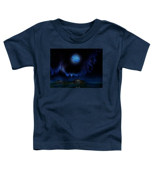 When The Night Falls Toddler T-Shirt