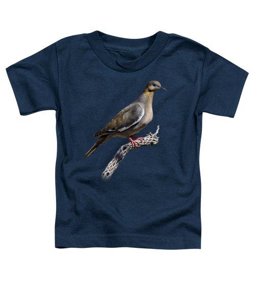 White-winged Dove V53 Toddler T-Shirt
