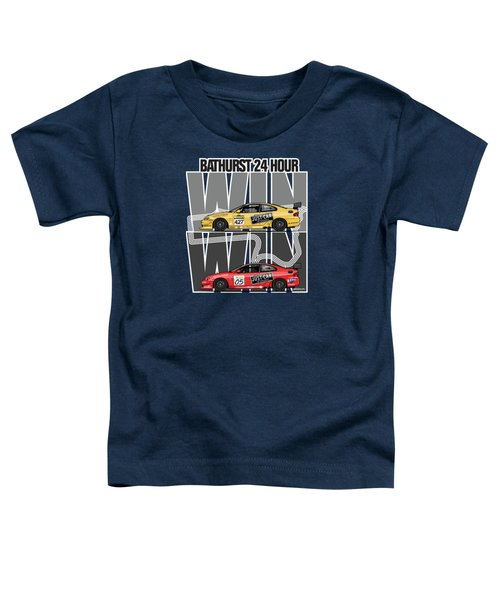 Win Win Holden Monaro Cv8 427c Bathurst 24 Hours Winners 2002 And 2003 Toddler T-Shirt