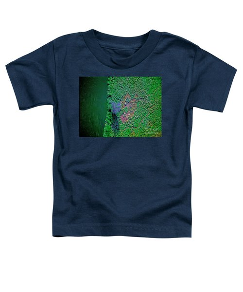 Wind Blown Marsh Tree And Water Toddler T-Shirt