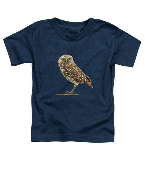 Winking Owl Toddler T-Shirt