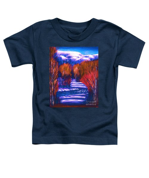 Winter Shadows  Toddler T-Shirt