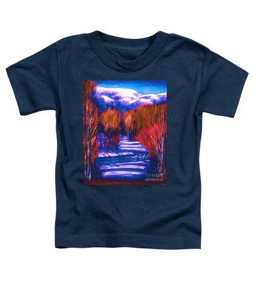 Winter Shadows  Toddler T-Shirt