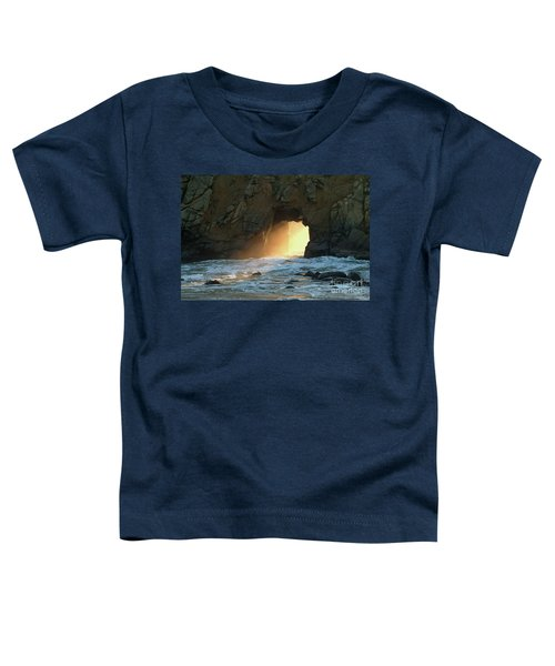 Winter Solstice Sunset In Big Sur Toddler T-Shirt