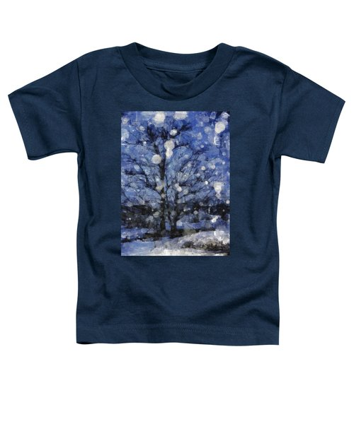 Winter Storm Toddler T-Shirt