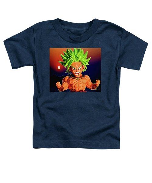 Sunset Ss Broly Toddler T-Shirt