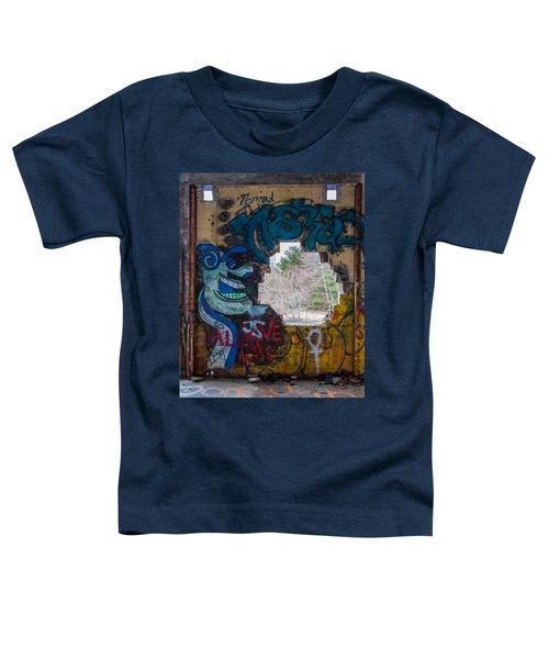 Wompatuck Graffiti Man Toddler T-Shirt