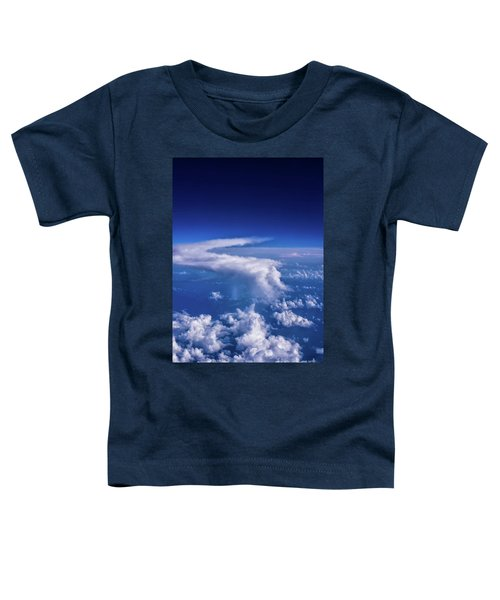 Writing In The Sky Toddler T-Shirt