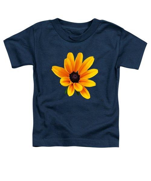 Yellow Flower Black-eyed Susan Toddler T-Shirt