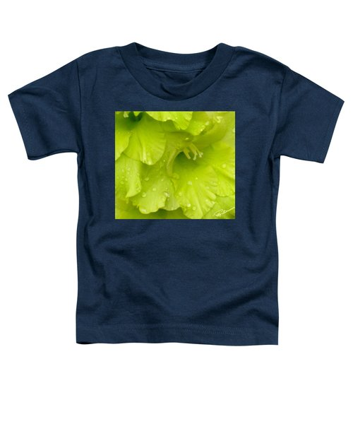 Yellow Gladiola Refreshed Toddler T-Shirt