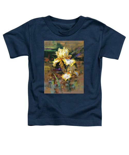 Yellow Iris II Toddler T-Shirt