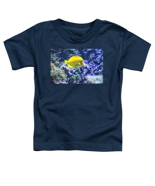 Yellow Tang Toddler T-Shirt