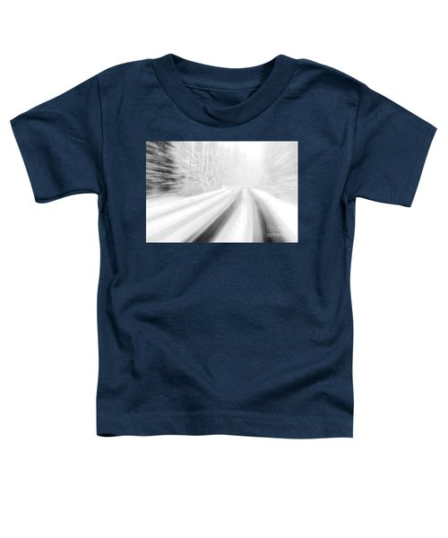 Yellowstone Summer Snow Toddler T-Shirt