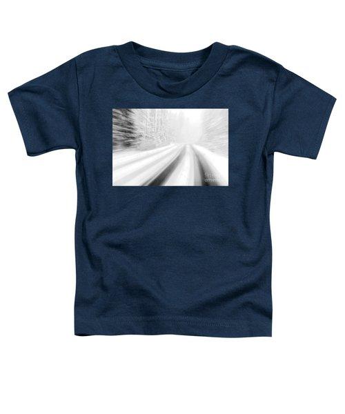 Yellowstone Summer Snow Toddler T-Shirt