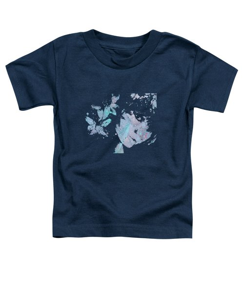 You'll See - Blue Toddler T-Shirt by Marco Paludet