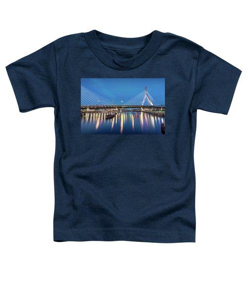Zakim Bridge And Charles River At Dawn Toddler T-Shirt