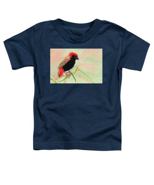 Zanzibar Red Bishop Toddler T-Shirt