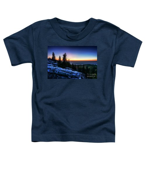 Toddler T-Shirt featuring the photograph Dawn At Bear Rocks Preserve by Thomas R Fletcher