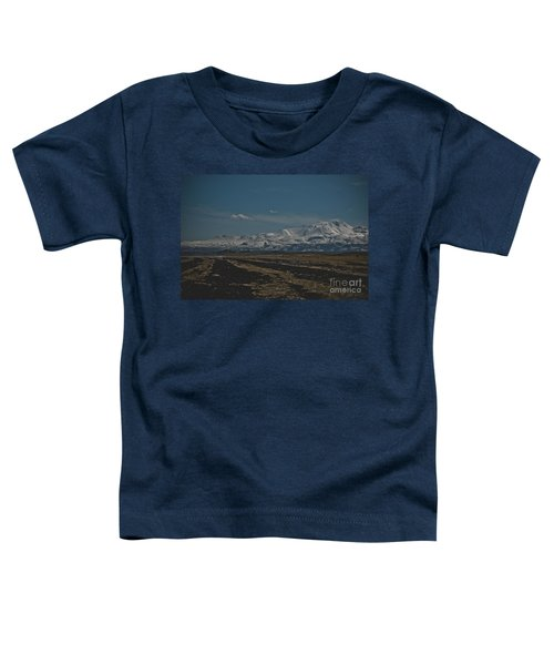 Snow-covered Mountains In The Turkish Region Of Capaddocia. Toddler T-Shirt