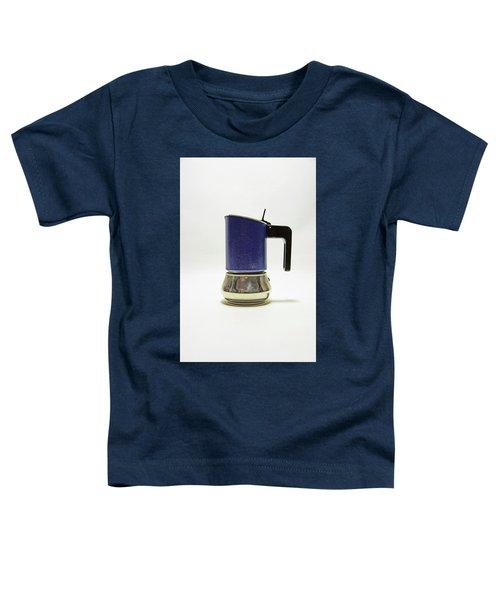 10-05-19 Studio. Blue Cafetiere Toddler T-Shirt