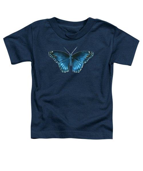 113 Brenton Blue Butterfly Toddler T-Shirt