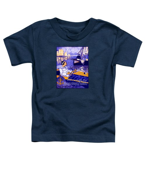 1910 Ballot Nautical Motors Toddler T-Shirt