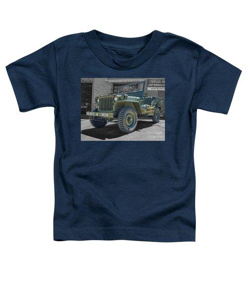 1942 Willys Gpw Toddler T-Shirt