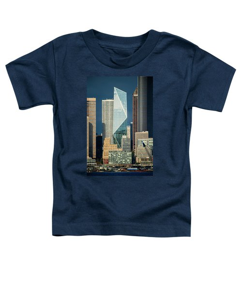 Modern Architecture In City, Seattle Toddler T-Shirt