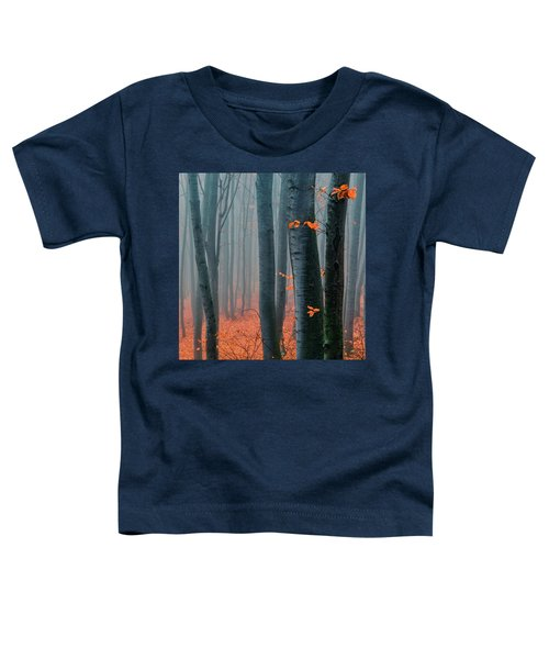 Orange Wood Toddler T-Shirt