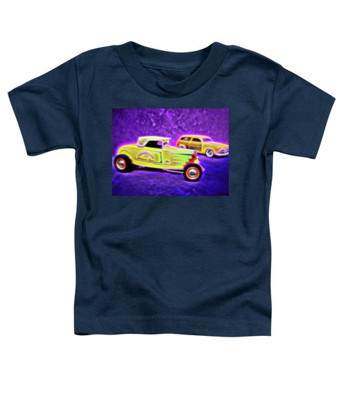 32 Roadster And 49 Woody Toddler T-Shirt