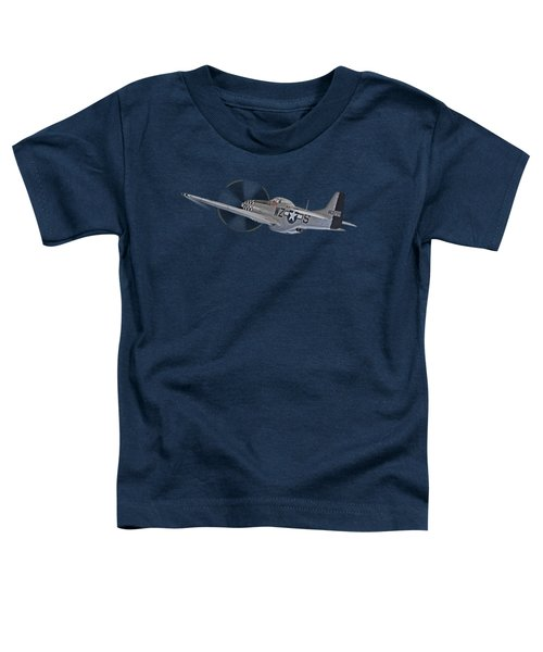 The Mission - P51 Over Dover Toddler T-Shirt