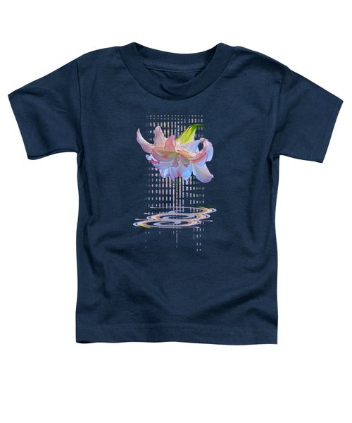 Curtain Of Dreams - Amaryllis Abstract Toddler T-Shirt