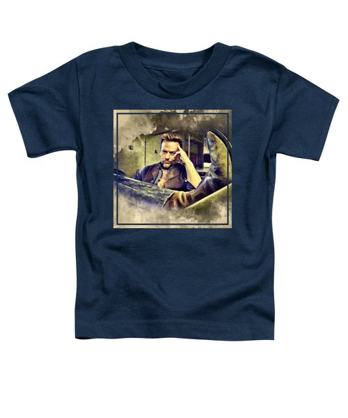 Flanery And His Cowboy Boot Toddler T-Shirt