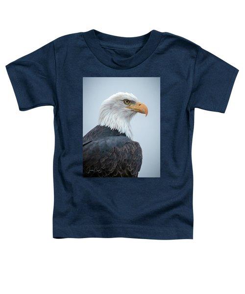 Bald Eagle Profile Toddler T-Shirt