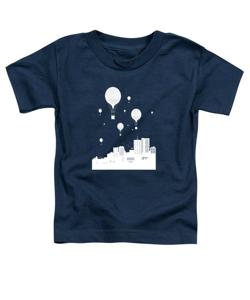 Balloons And The City Toddler T-Shirt