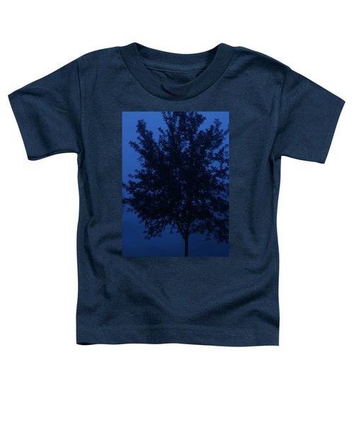 Blue Cherry Tree Toddler T-Shirt