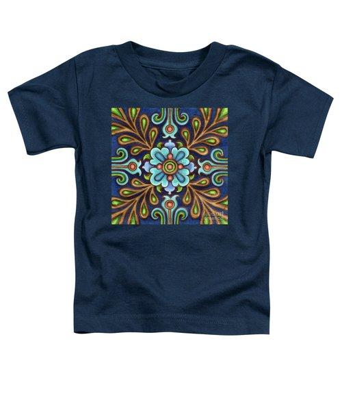Botanical Mandala 9 Toddler T-Shirt