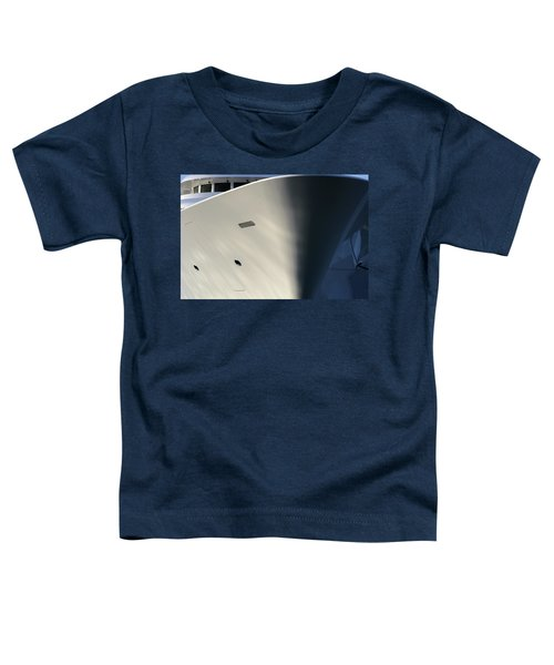Bow Of Mega Yacht Toddler T-Shirt