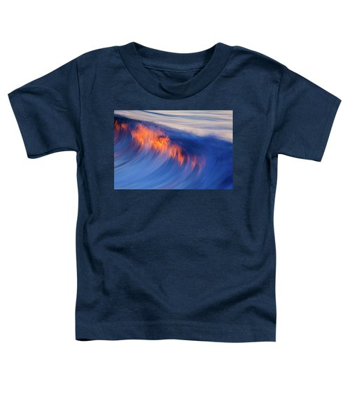 Burning Wave Toddler T-Shirt