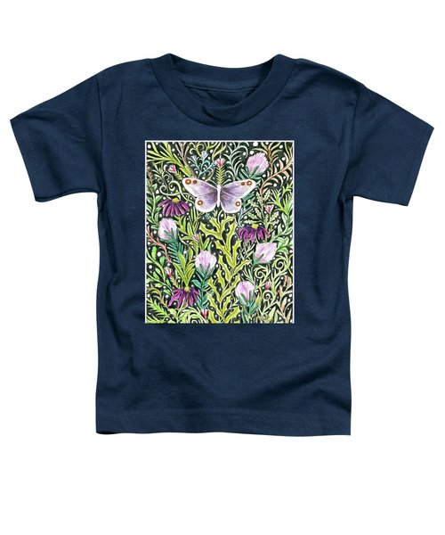 Butterfly Tapestry Design Toddler T-Shirt