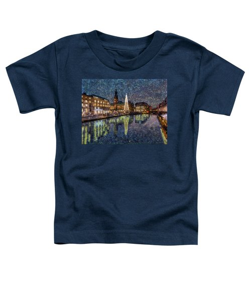 Christmas Hamburg Toddler T-Shirt