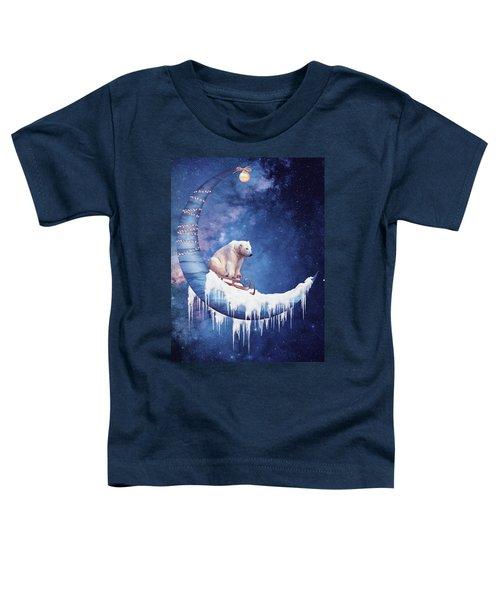 Christmas On The Moon Toddler T-Shirt