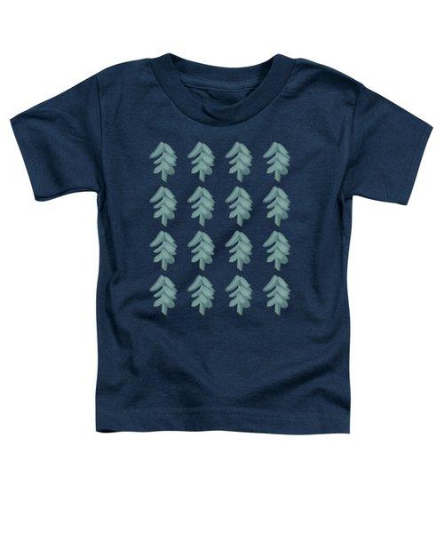 Christmas Tree Pattern Toddler T-Shirt