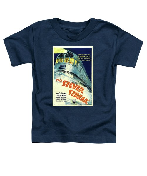 Classic Movie Poster - The Silver Streak Toddler T-Shirt
